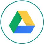 Free Marketing Tools - Google Drive logo in circle