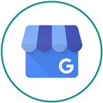 Free Marketing Tools - Google My Business logo in circle