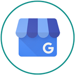 Free Marketing Tools - Google My Business logo in circle