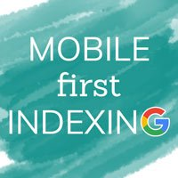 """blog thumbnail of """"mobile first indexing"""""""