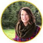Photo of Abby Lehman Buzon, owner of The Helpful Marketer
