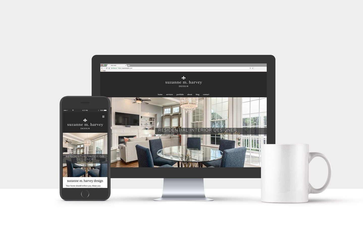 Interior Designer Website Design Project