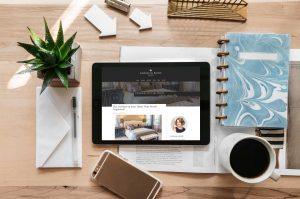 Interior Designer Website Blog Redesign Project