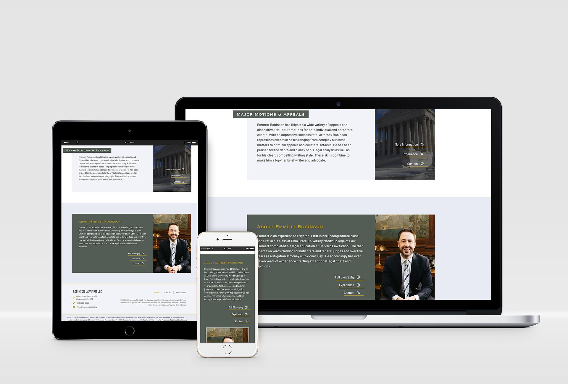 law firm website design mockup5