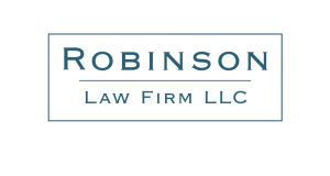 Robinson Law Firm logo design