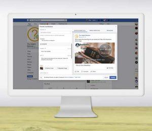 Facebook Advertising Ad Design Mockup
