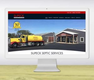 Portfolio Thumb - Web Design Portfolio Local Service Company