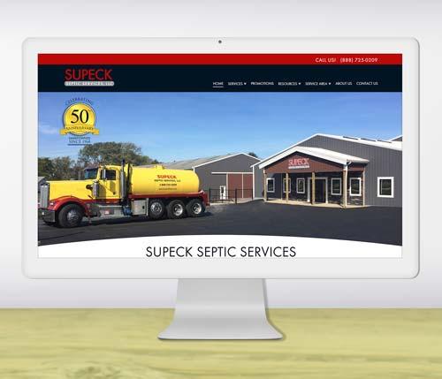 Portfolio Thumb - Web Design Portfolio Local Service Company