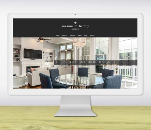 Interior designer website design portfolio-thumb
