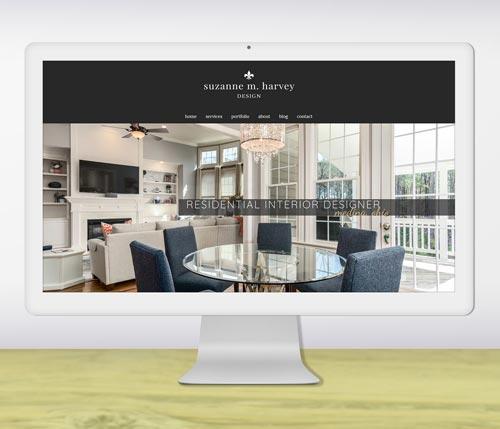 Interior designer website design portfolio-thumb