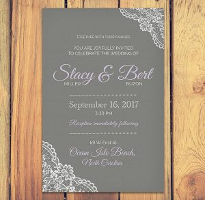Wedding Stationery Design - Destination Wedding Invitation Design