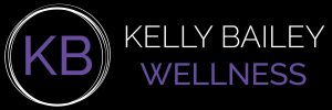 Kelly Bailey Wellness Logo on black