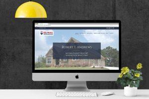 Web Design for Real Estate Portfolio Mockup
