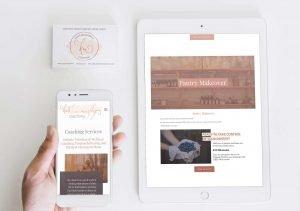 Squarespace website redesign & logo design