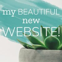my beautiful new website!