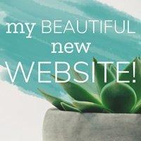 my beautiful new website!
