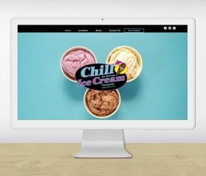 Chill Ice Cream Website Redesign